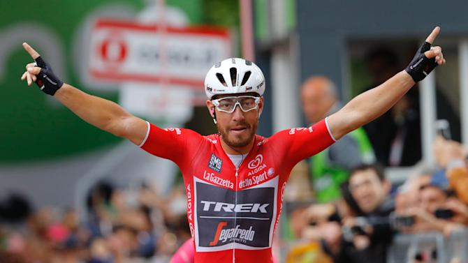 Nizzolo wins maiden stage as Nibali claims second Giro d'Italia
