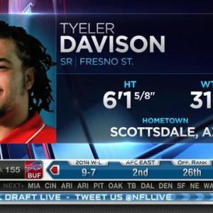 New Orleans Saints pick defensive tackle Tyeler Davison No. 154