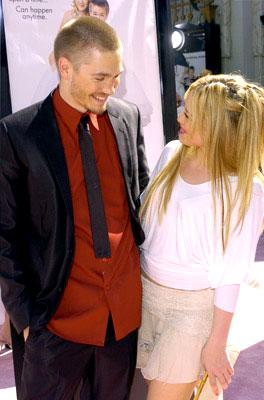 Premiere: Chad Michael Murray and Hilary Duff at the Hollywood premiere of Warner Brothers' A Cinderella Story - 7/10/2004