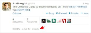 How to Embed Tweets on Your Website and Blog image Click on Details
