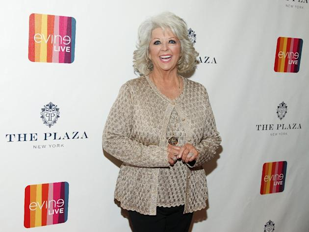 FILE - In this Feb. 13, 2015 file photo, Paula Deen attends the EVINE Live launch event at The Todd English Food Hall at The Plaza in New York. A spokesman for Deen says she didn't post a 2011 Hal