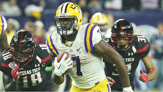 LSU's Leonard Fournette has 'no issue' with health ahead of Wisconsin game