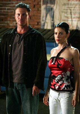 """Brian Krause and Alyssa Milano The WB's """"Charmed"""" Charmed"""