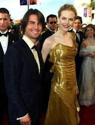 File photo shows Tom Cruise with his then-wife Nicole Kidman at the 72nd Annual Academy Awards in Los Angeles in 2000. Cruise was married to Kidman for 11 years