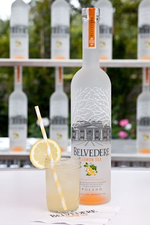 Belvedere Vodka Lemon Tea featured at the Playing For Good Poker Charity Tournament