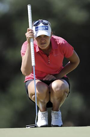 Pressel chases 59, settles for 65 in Founders Cup