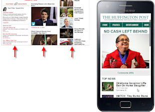 Designing Your Blog for Mobile Readability image huff compare