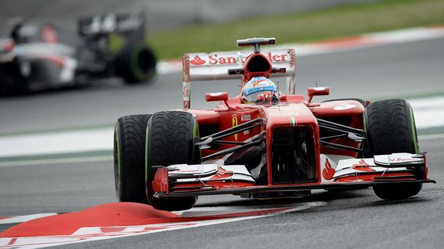 Formula 1 - Alonso keeps calm over rapid pace