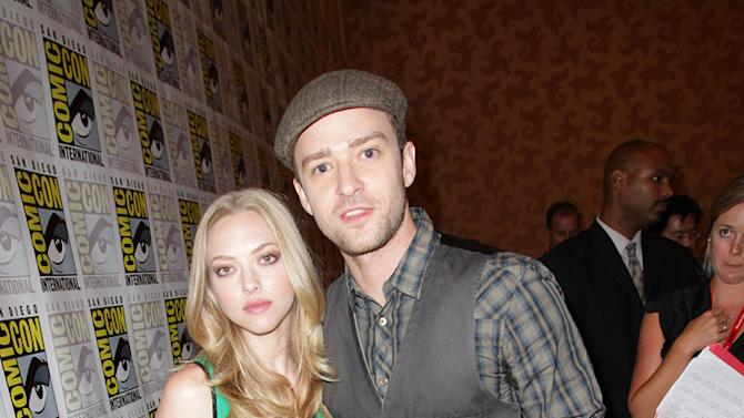 Seyfried Timberlake Comic Con