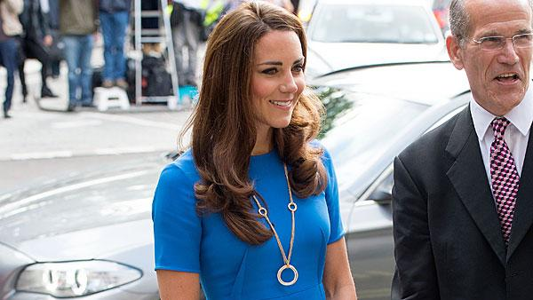 Kate Middleton Goes Patriotic In Pre-Olympics Dress