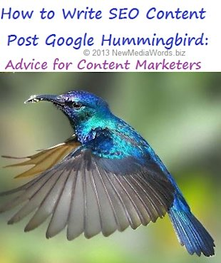Content Marketing Insight: How to Write Web Copy That Ranks Well Post Google's Hummingbird Update image content marketing seo writing advice post hummingbird