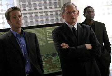Michael Vartan, Victor Garber and Carl Lumbly ABC's Alias