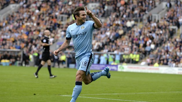 Premier League - Frank Lampard will stay at Manchester City until end of the season