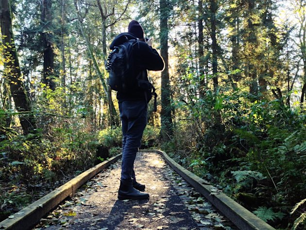 Just west of Vancouver, British Columbia, Pacific Spirit Regional Park lures urbanites and adventurers to get lost in the woods.