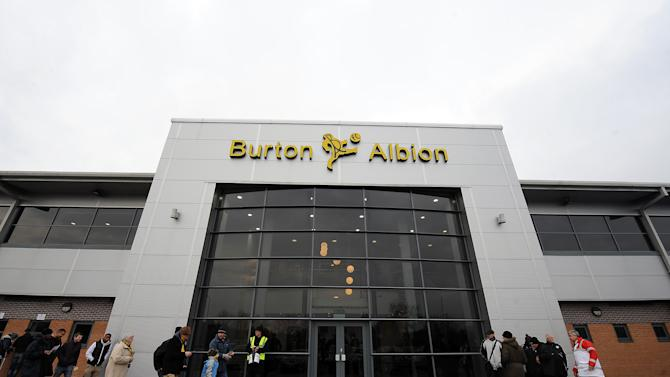 Jacob Blyth has signed a loan deal with Burton until mid January