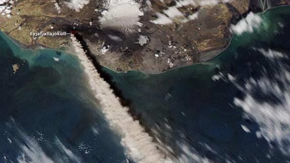 Iceland Volcano Eruption Fueled Ocean Blooms