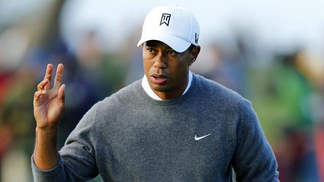 Golf - Tiger likes look of firm and fast Torrey Pines