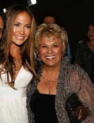 Jennifer Lopez and Lupe Ontiveros seen in Los Angeles on July 31, 2007 -- Getty Images