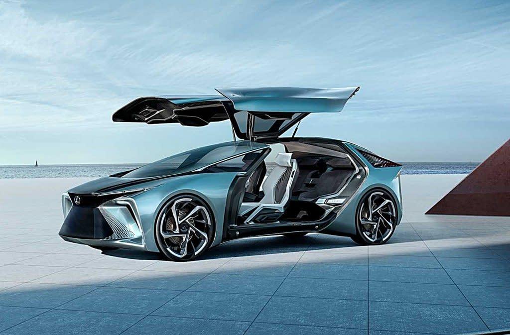 【東京車展】LEXUS推出Level 4自動駕駛的LF-30電動概念車