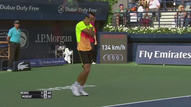 18-year-old Coric records shock win over Murray