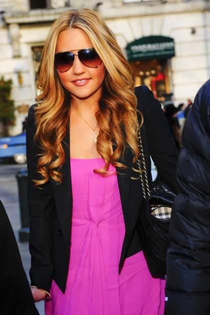 Amanda Bynes out and about in New York  -- Getty Premium