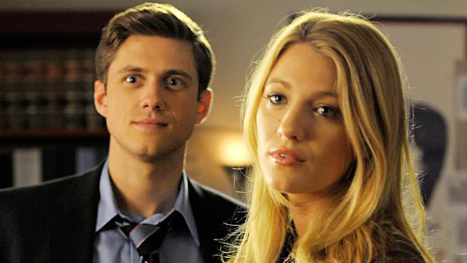 """Aaron Tveit and Blake Lively in the """"Gossip Girl"""" episode, """"They Shoot Humphreys, Dont They?"""""""