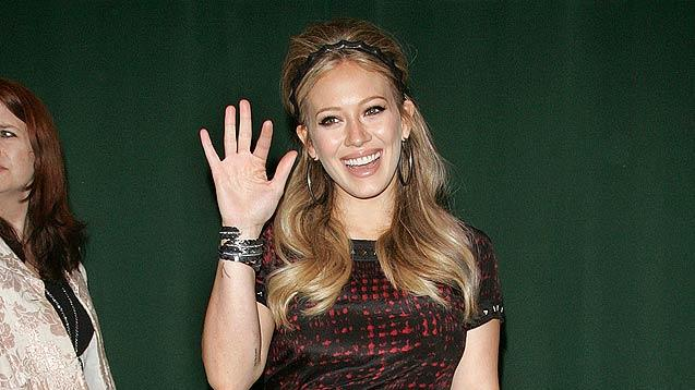 Hilary Duff Book Signing