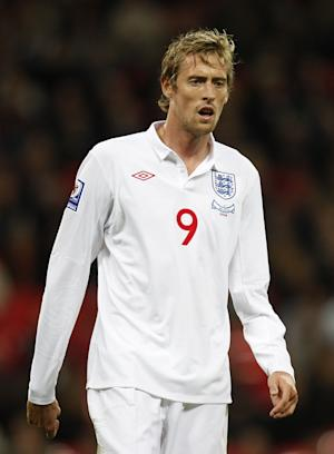 Peter Crouch could have played his last game for England