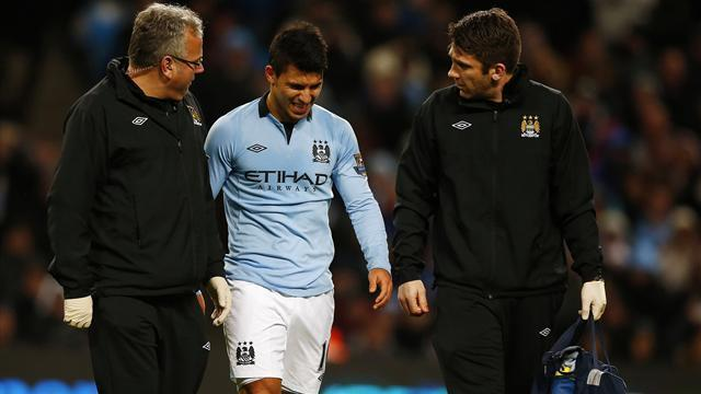 Premier League - Aguero to miss Villa clash