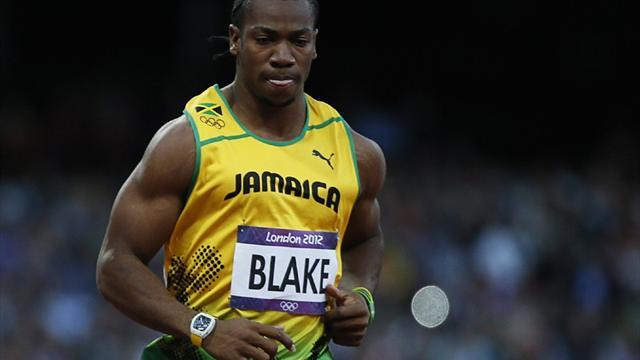 Athletics - Blake not ruled out of world 100m title defence