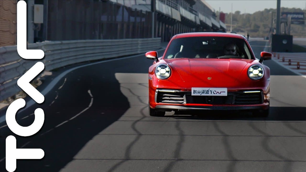 酣暢體驗 Porsche New 911 Carrera S (Type 992) 西班牙試駕 - TCAR