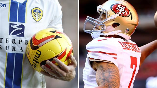 NFL - Leeds United link up with San Francisco 49ers