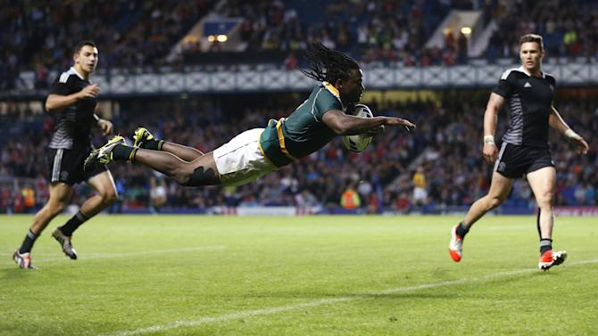 Commonwealth Games - South Africa shock New Zealand to claim sevens gold