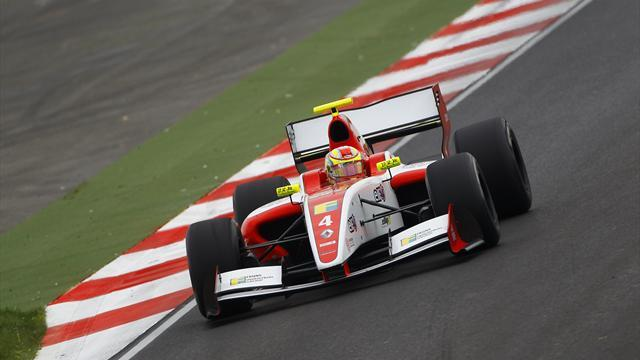 GP2 - Frijns takes first GP2 win in thriller