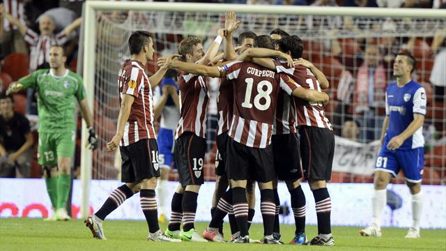 Spanish Liga - Athletic Bilbao hang on to beat Granada