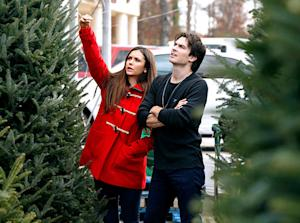 PICTURE: Nina Dobrev, Ian Somerhalder Go Christmas Tree Shopping Together