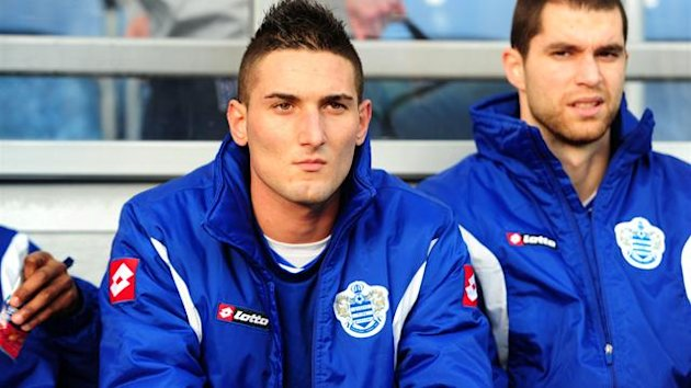 2011-12 Premier League Queens Park Rangers Federico Macheda bench