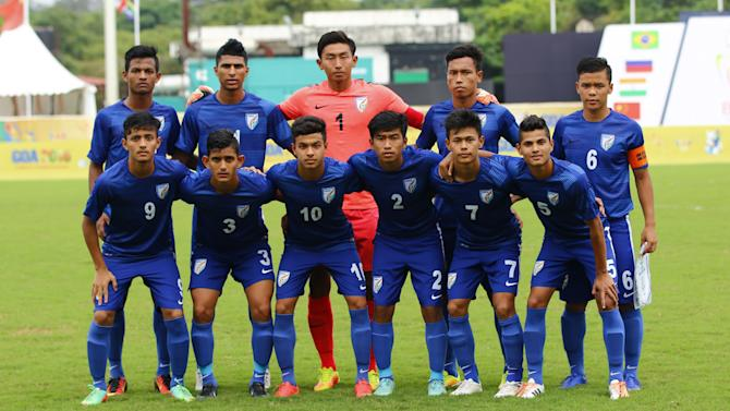 India U17 National Team - India U17 0-1 Iran U18 - Indian Colts go down against Iran in Russia