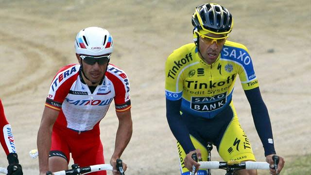 Cycling - Rodriguez takes Catalunya lead with stage three win