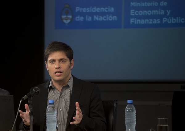 in Buenos Aires, Argentina, Thursday, July 31, 2014. The collapse