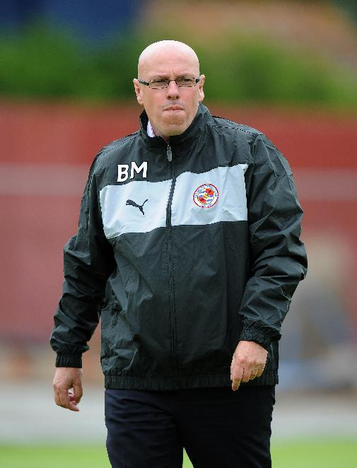 Brian McDermott felt that Reading would have been unlucky to have lost to Stoke