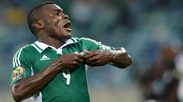 World Cup - Emenike double gives Nigeria advantage in playoff