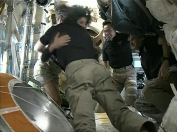 Soyuz Spacecraft Carrying Russian-US Crew Headed Back to Earth