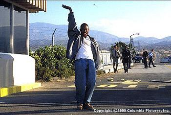 Martin Lawrence as Miles Logan in Blue Streak