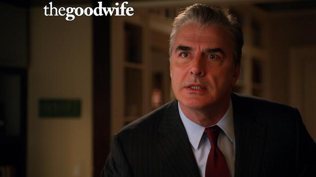 The Good Wife - Alicia Confronts Peter