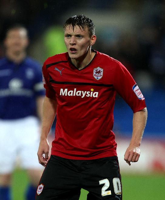 Joe Mason set Cardiff on their way to victory