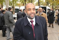 A top member of Morocco's largest Islamist group, Fathallah Arsalane, pictured here on November 29, 2010, has said that the banned but tolerated opposition movement was ready to enter the political fray if the authorities allowed it to.