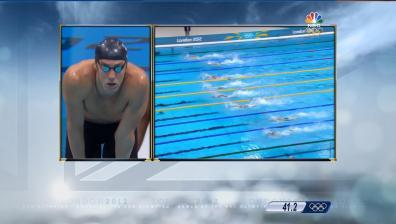 London 2012: France gets back at U.S. in 4x100m free relay