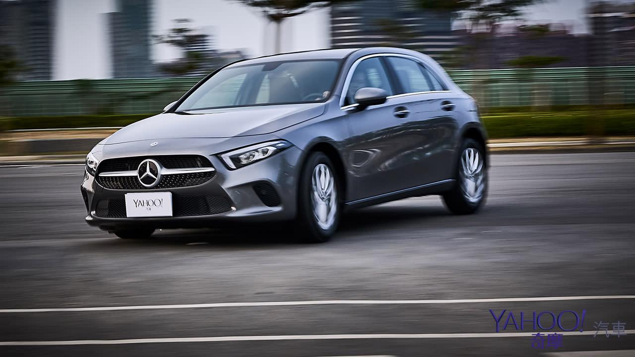 【新車圖輯】簡潔、更直接!Mercedes-Benz A-Class A200高雄試駕