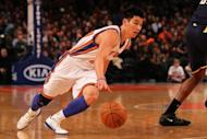 Jeremy Lin's break-out campaign with the New York Knicks has been cut short by a left knee injury that needs surgery, the NBA team said Saturday